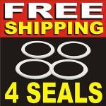 4 REPLACEMENT GASKET SEAL Sunbeam Food Processor Blender Rubber
